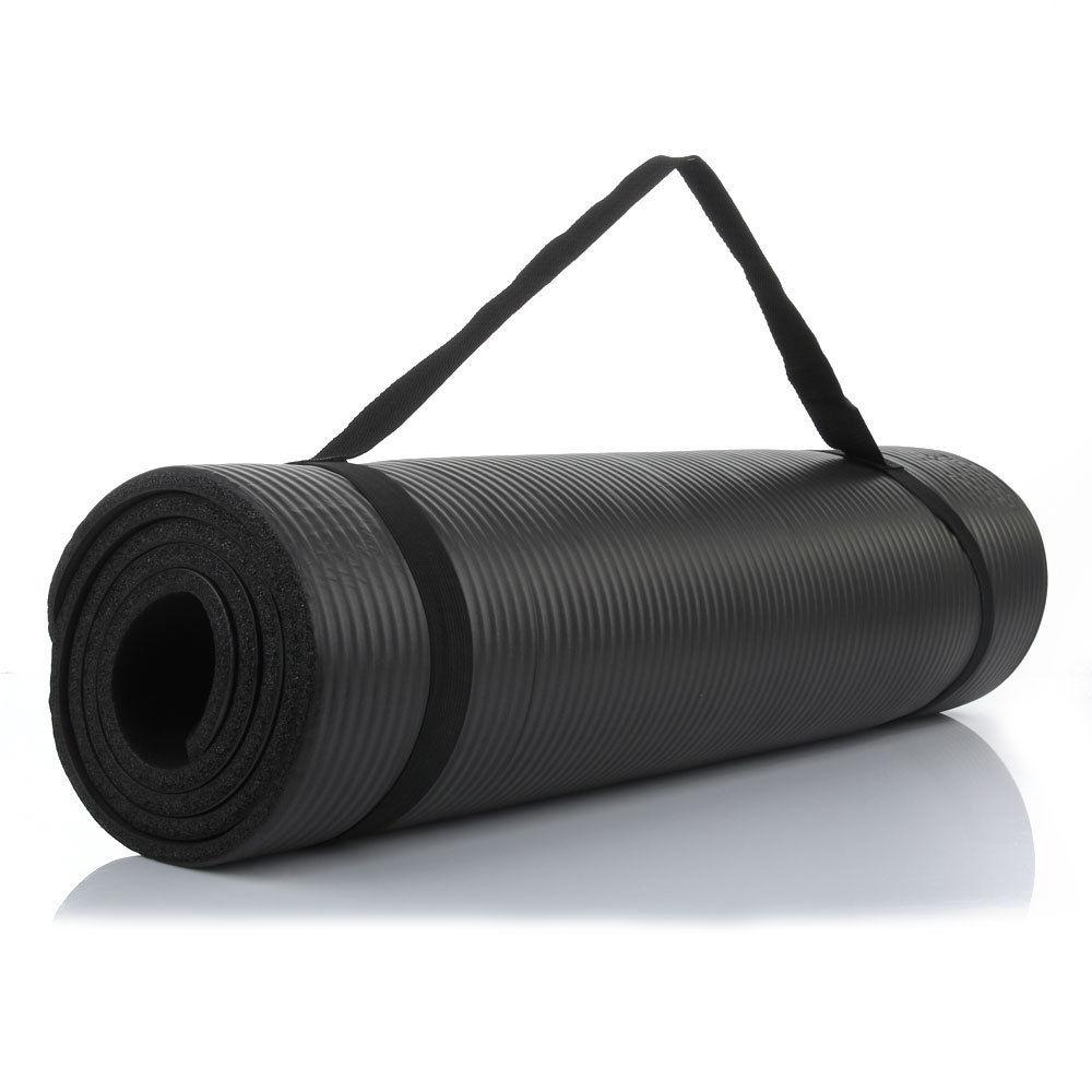 "Durable Extra Thick (15 Mm) 72"" X 24"" NBR Yoga Mats Non"