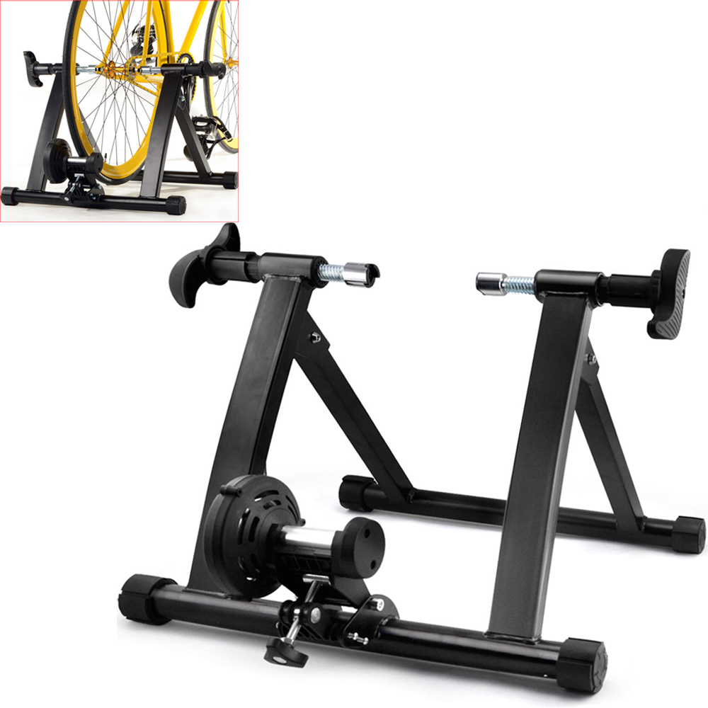 New Indoor Exercise Bike Trainer Bicycle Stand 7 Levels W