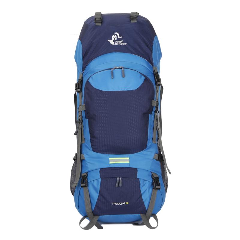 540f0200e566 60L Large Backpack Internal Frame Packs Hiking Climbing Rucksacks Sports  Nylon
