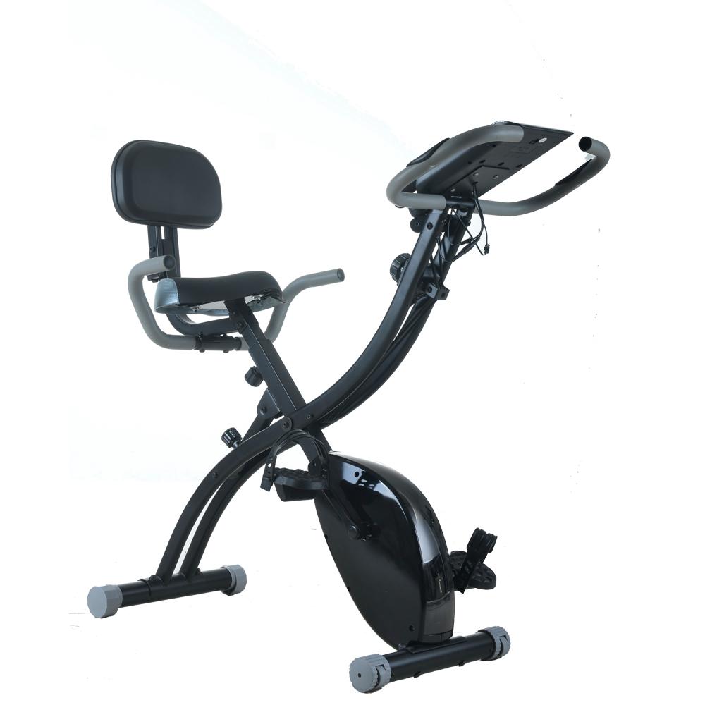 Exercise Bike Display: Indoor Folding Magnetic Upright Exercise Bike LCD Display