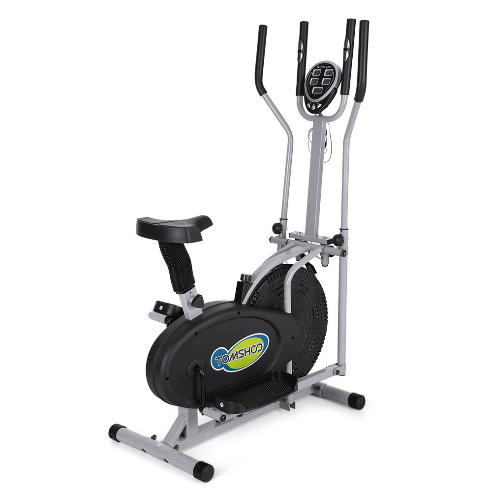 Elliptical trainer machine exercise workout bike gym