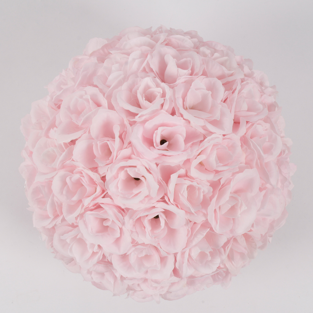New 10 wedding bridal kissing ball 10pcs silk flower ball new 10 wedding bridal kissing ball 10pcs silk flower ball decoration pomander ebay mightylinksfo