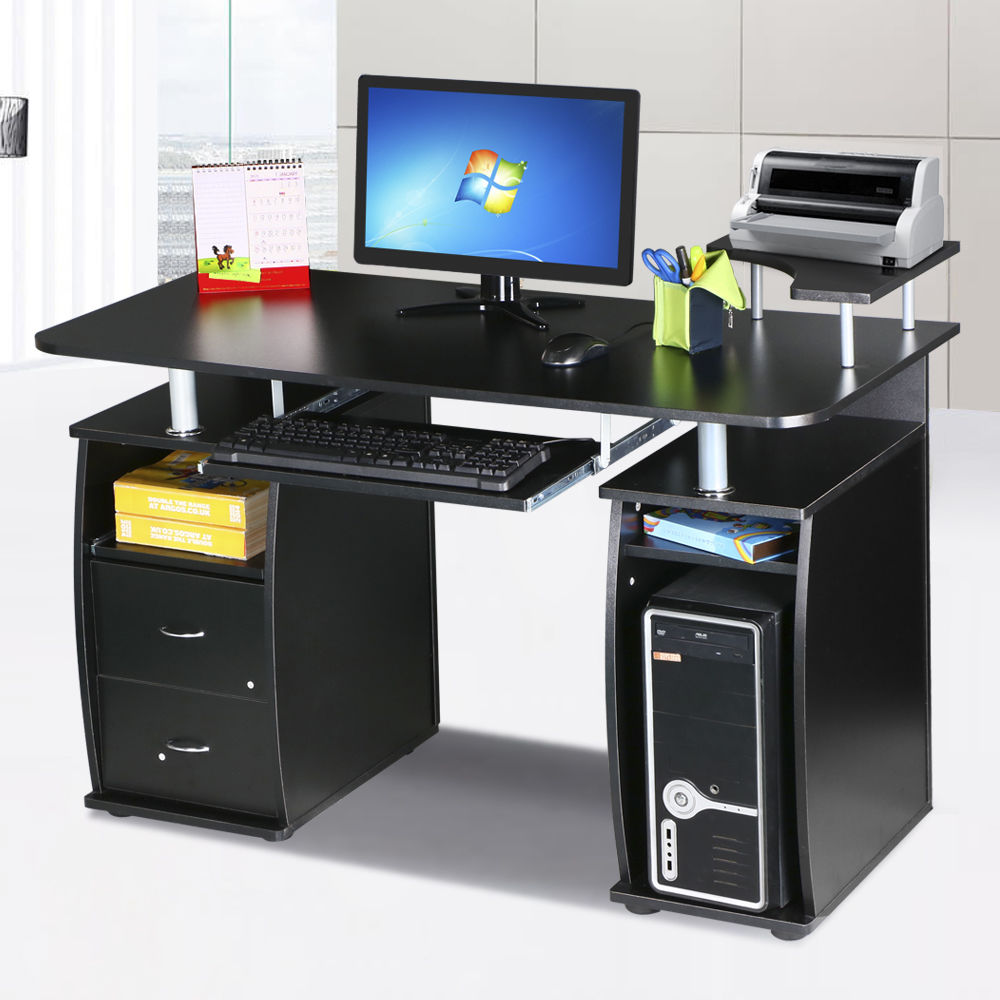 Computer Desk PC Laptop Writing Table Workstation Student