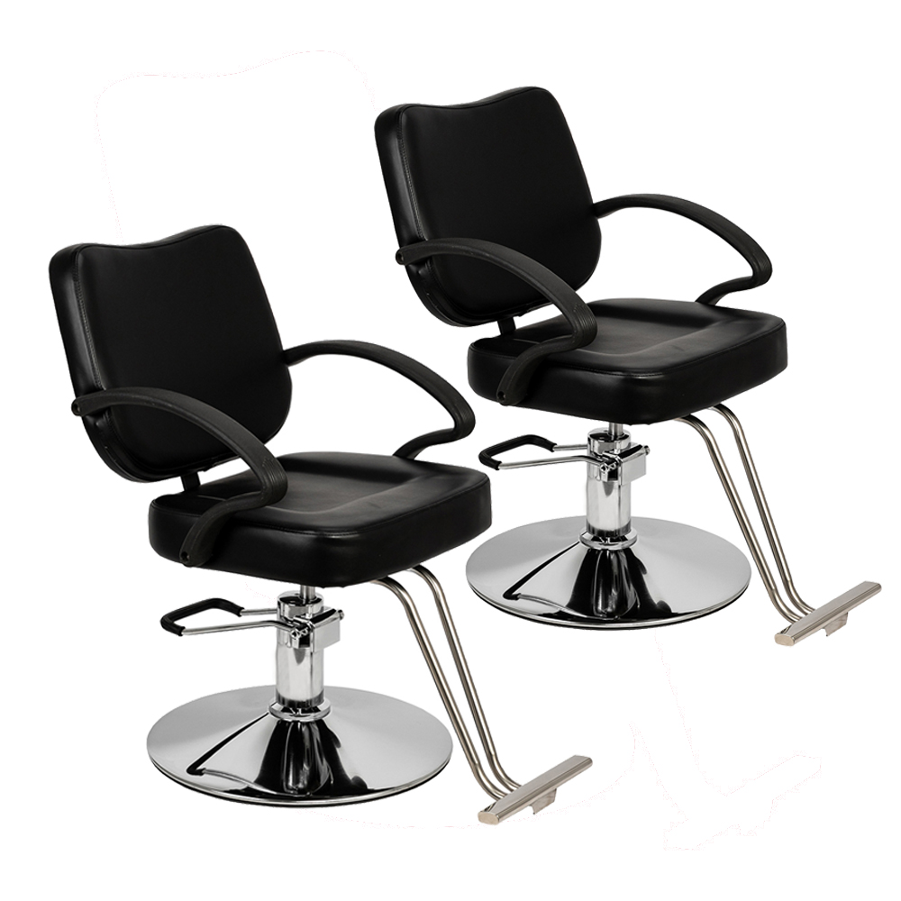 Admirable Details About 2Pcs Barber Salon Chair Shampoo Spa Black Fashion All Purpose Hydraulic Shop Us Bralicious Painted Fabric Chair Ideas Braliciousco