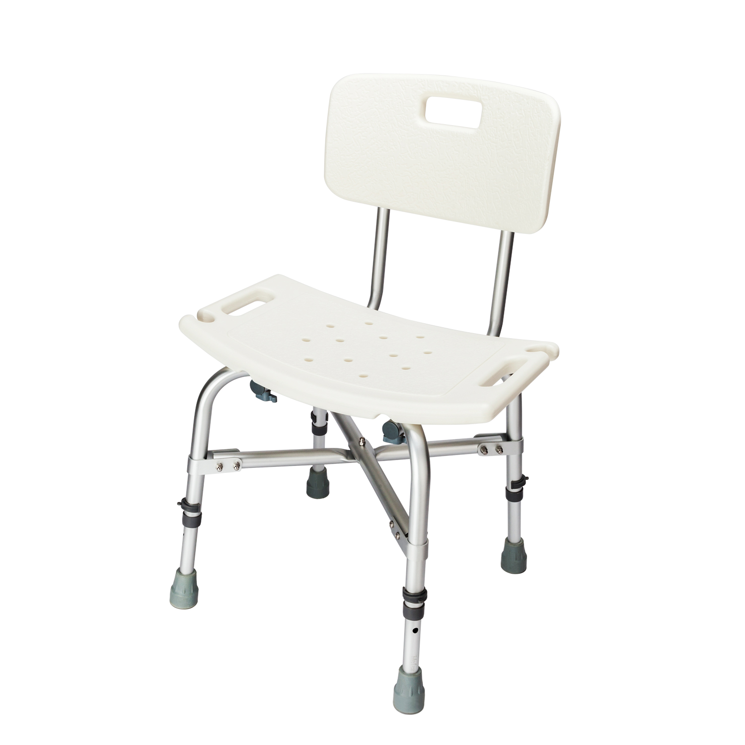 Adjustable Heavy-duty Medical Shower Chair Bathtub Bench Stool Seat ...