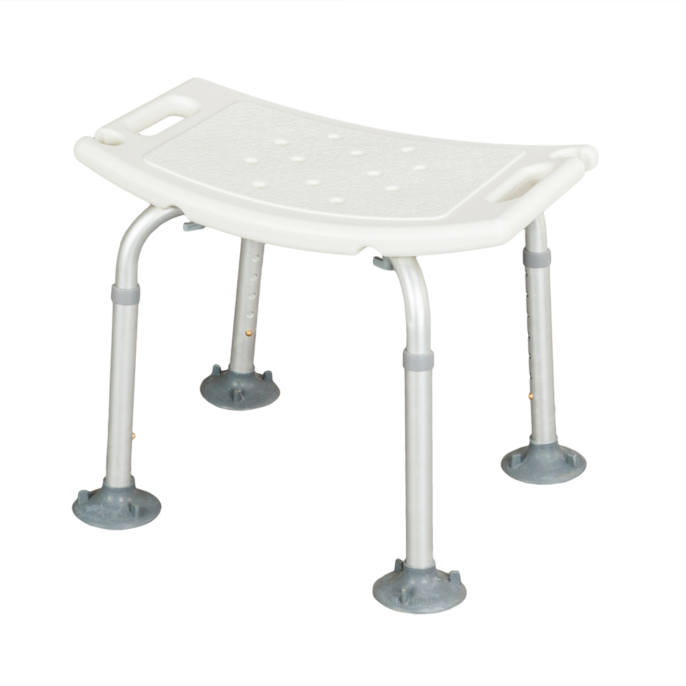 Medical Bathroom Disabled Plastic Seat Aluminum LegsAdjustable Bath ...