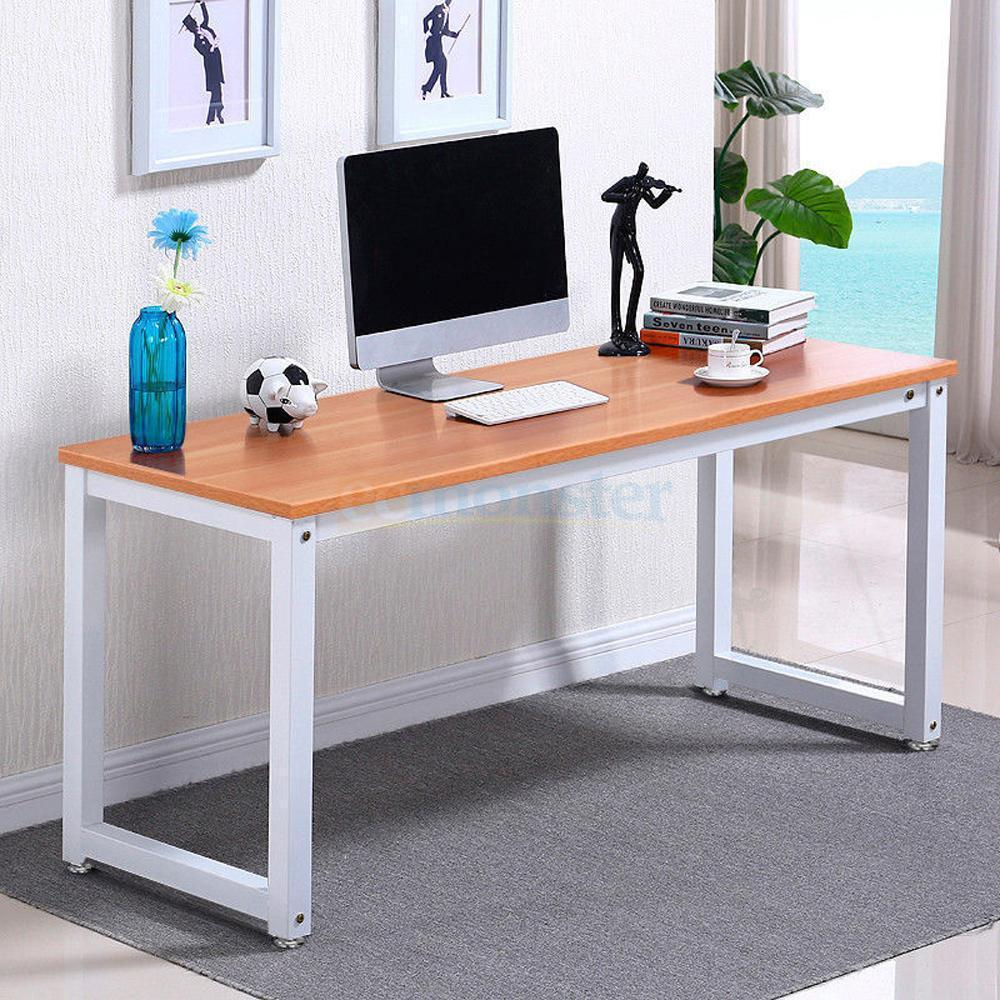 Simple Modern Office Desk Portable Computer Desk Home: Modern Simple Design Home Office Desk Computer Table Wood