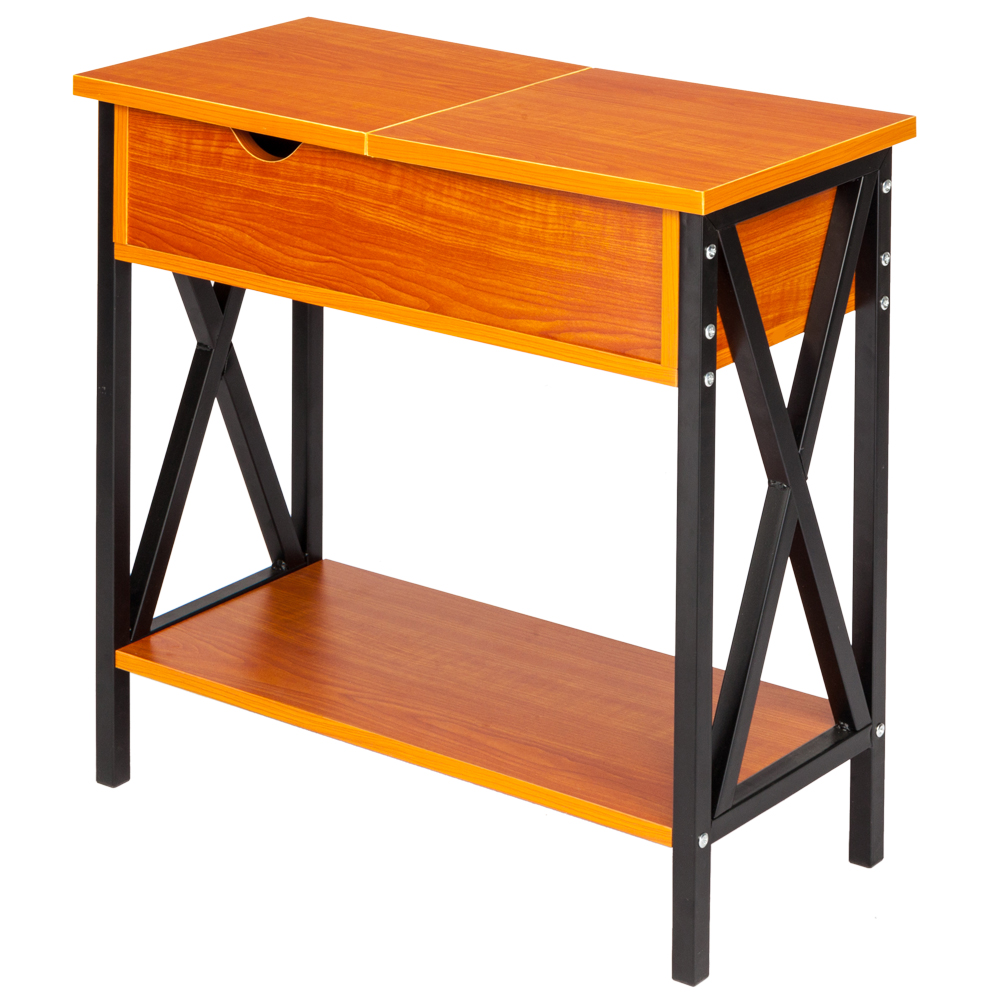 Astonishing Details About Flip Top Sofa Side End Table Narrow Couch Table Stand Living Room Furniture Andrewgaddart Wooden Chair Designs For Living Room Andrewgaddartcom
