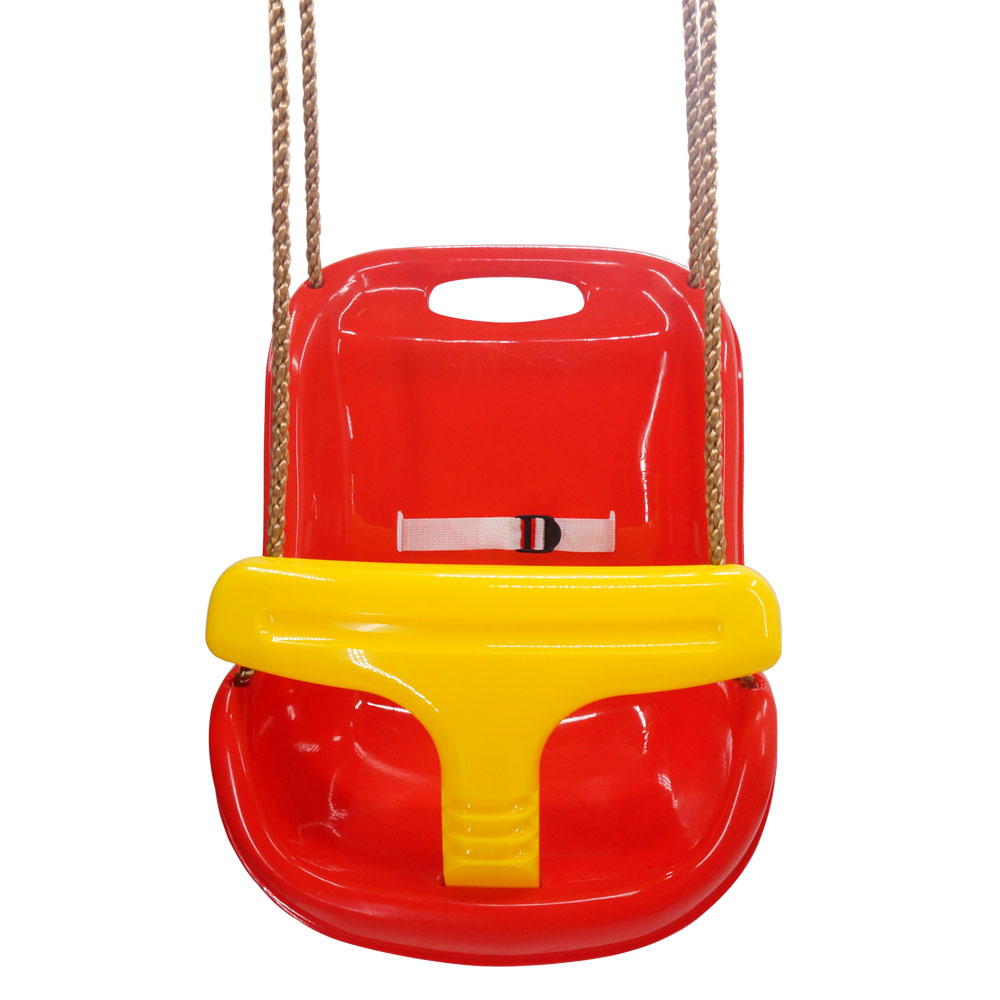 Outdoor Baby Swing >> Details About Baby Swing Seat Children Hanging Chair High Back Outdoor Wide Seat Belt Toddler