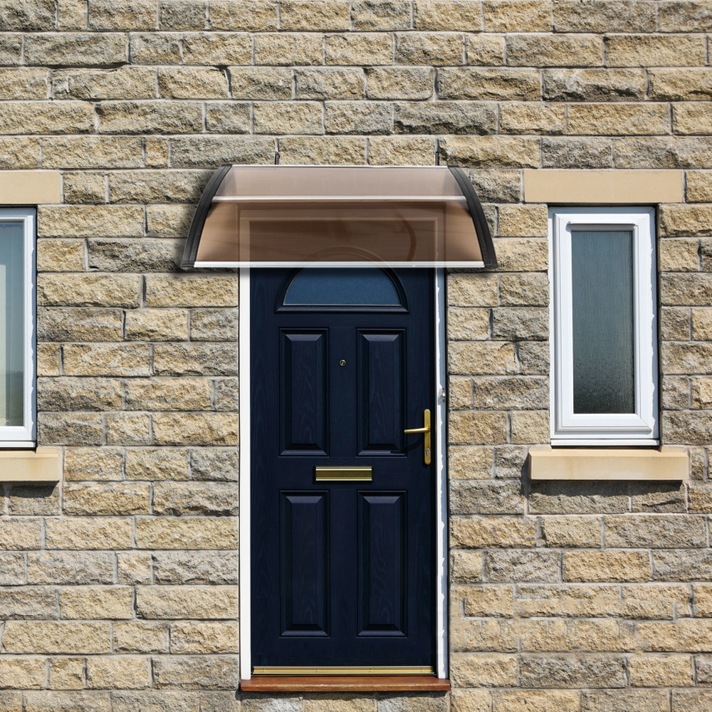 40 X 40 Window Awning Door Canopy Outdoor Polycarbonate Front Door