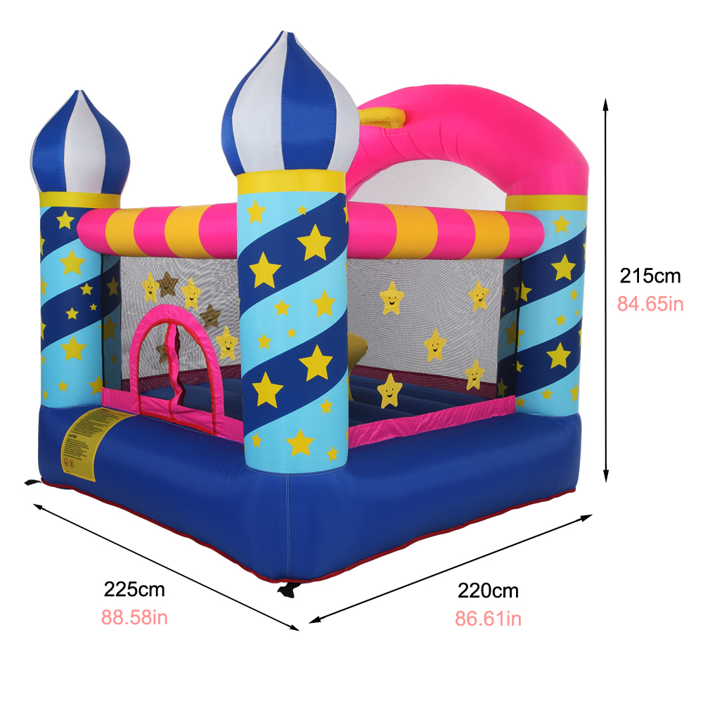 Inflatable Bouncer Kids Bounce House Jumping Castle W Air Blower