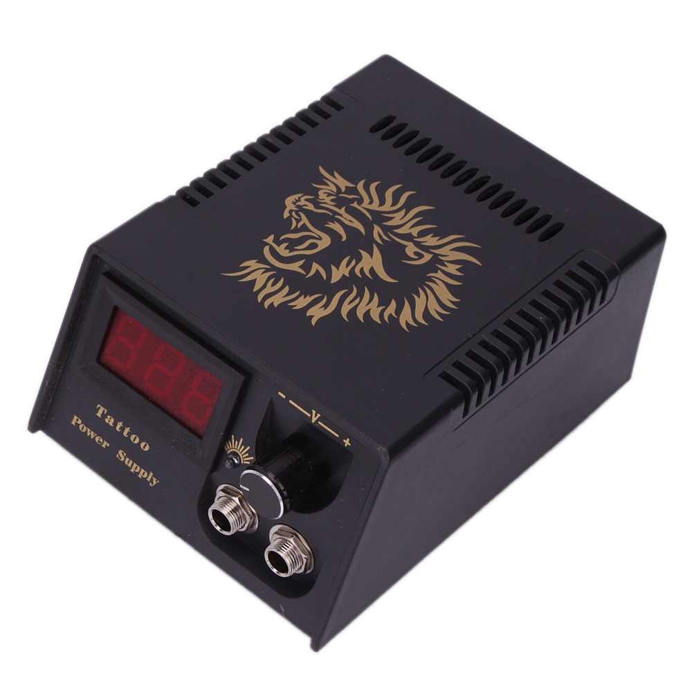 1pcs lcd digital tattoo power supply machine and power for Tattoo supplies ebay